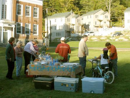 Annual Neighborhood Lamb Roast