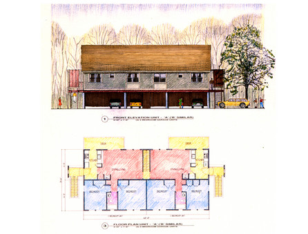 Rendering of Homes