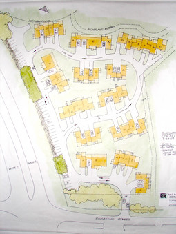 Original Homeownership Development Site Plan Proposal