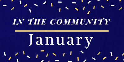 January 2020 In The Community