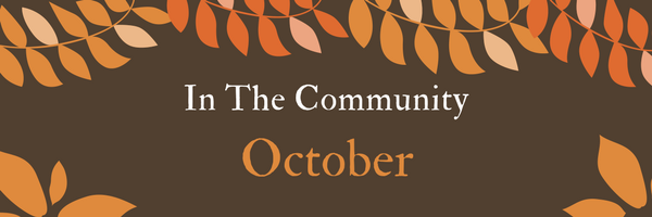 October 2019 In The Community