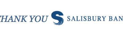 Thank you Salisbury Bank!