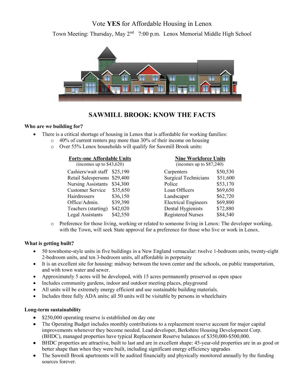 Sawmill Facts page 1