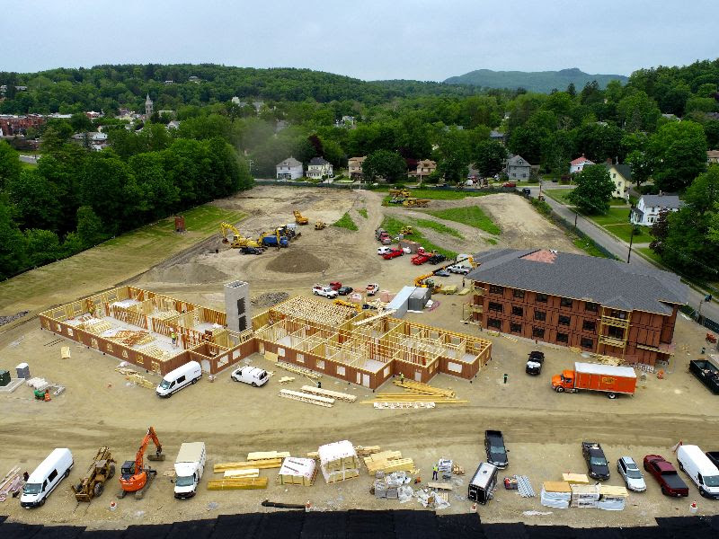 Bentley Apartments Ahead of Schedule